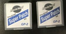 2x Park Tool Super Patch Bicycle Tube Patch Kit Flat Fix Kit Glueless 3M