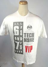 Minty Vintage Tech N9NE Nine Concert All 6's 7's Tour T Shirt Hip Hop Rap VIP