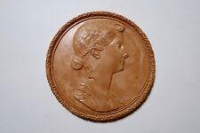 médaille en plâtre 86 mm