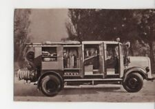 N°802 FIRE TRUCK CAMION MERCEDES-BENZ L.3500 DIESEL GERMANY CAR VOITURE 1957 N&B