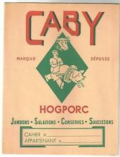 protège-cahier ancien Caby Hogporc