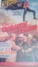 rare Vigilantes Are Coming 1936 VHS western serial Robert Livingston 12 episodes