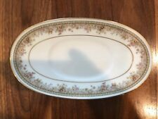 Noritake Ireland Morning Jewel 2767 Butter Relish Dish Or Gravy Boat Underplate