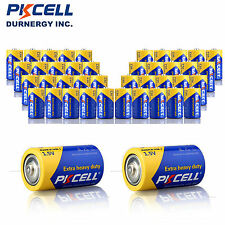 24pcs Size D Battery Super/Extra Heavy Duty 720min R20P 1.5v PKCELL