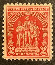 US Stamps, Scott #680 2c 1929 Battle of Fallen Timbers XF/Superb M/NH. Beautiful