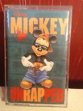 MICKEY UNRAPPED Walt Disney Cassette Tape Music 1994 Rap Parody Remix