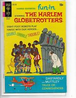 Hanna-Barbera Fun-In #10 Harlem Globetrotters Gold Key comics Dasterdly Muttley