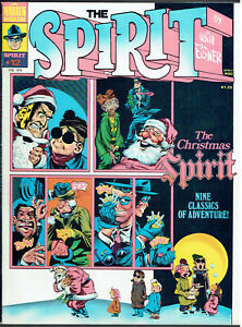 THE SPIRIT  12  VF-/7.5  -  Christmas issue!