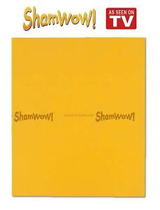 Shamwow Super Absorbent Towels Original Sham-wow from Germany - 1x Large