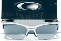 NEW* Oakley HALF JACKET 2.0 Silver POLARIZED Galaxy Chrome Mirror lens Sunglass