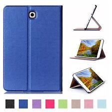 Custodia per Samsung Galaxy Tab 8.0 s2 sm-t713 sm-t719 Book Cover Astuccio Case Blu