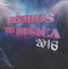 CD - Premios Tu Musica 2016 NEW Maluma Nicky Jam Y Mas FAST SHIPPING !