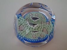 WHITEFRIARS 1979 perdrix dans un Peartree Glass Paperweight