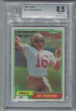 1981 Topps Joe Montana #216 BGS 8.5 San Francisco 49ers RC HOF