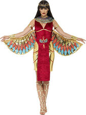 Ladies Sexy Isis Egyptian Goddess Mythical Myth Fancy Dress Costume Outfit 8-18