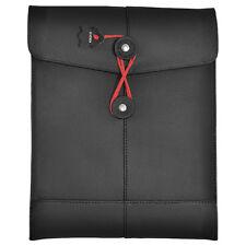 Civilian Padmanila Leather Ipad Sleeve Foam Flip Tabs Tactical Vents Army Black