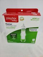 Playtex BPA Free Premium Nurser Bottles with Drop In Liners 3 Count 8 Ounce