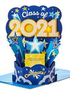 Hallmark Paper Wonder Pop-Up Graduation Card With Envelope