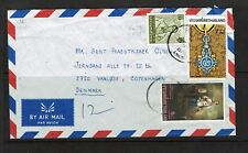Thailand - 1988 Airmail Cover to Denmark - 100117