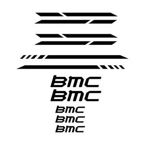 STAR SAM® RAHMENAUFKLEBER BMC STICKER RAHMEN AUFKLEBER BIKE STICKER KIT