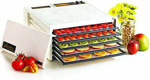 Excalibur Electric Food Dehydrator 5 Tray 3500B Medium White