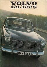 Volvo 120-Series Amazon 1969-1970 UK Market Sales Brochure 121 122S