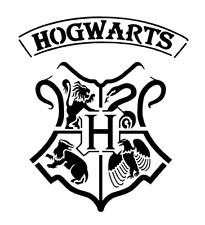 high detail airbrush stencil hogwarts crest   FREE UK POSTAGE