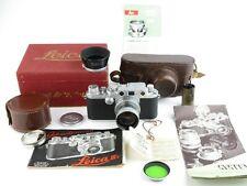 Leitz Wetzlar Leica IIIf black dial LOOKX + Summitar f=5cm 1:2 in Box OVP
