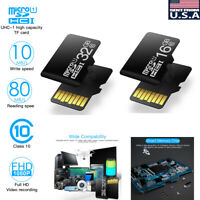 Universal Ultra Micro SD SDHC TF Flash Memory Card Fast Class10 + 16GB 32GB