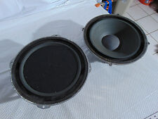 "Vintage Wharfedale Massive Magnet 12.5"" Woofers from W90D Sand Filled Speaker Sy"