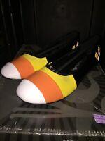 NIB Funtasma CandyKorn Shoes Halloween Dress Shoes Candy Corn SIZE 6