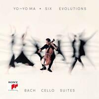SIX EVOLUTIONS-BACH: CELLO SUITES - MA,YO-YO  2 CD NEW BACH,JOHANN SEBASTIAN