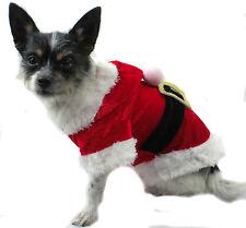 Hundejacke Jacke XS S M L Hund Shirt Hundemantel Weihnachten Christmas Santa