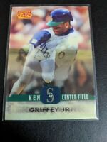 1996 Pinnacle Sport Flix 96 Ken Griffey Jr HOF in 3D #18 Seattle Mariners Hologr