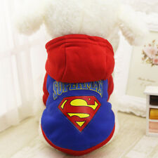 Warm Dog Hoodie Sweater Small Medium Pet Cat Clothes Coat Jacket Cute Jumper