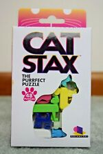Brainwright Cat STAX, The Perfect Puzzle Game 48 Puzzles Purrfect