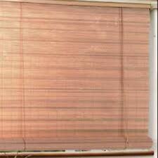 HOPE BAMBOO Shades Roller Blinds Indoor Outdoor Deck Porch Patio 72x72 (SPICE)