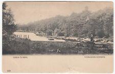 London; Queen's Mere, Wimbledon Common 1225 PPC, Unposted, c 1903 - 1905