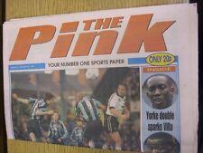 24/01/1998 COVENTRY evening Telegraph il rosa: principali titolo recita: due gol di