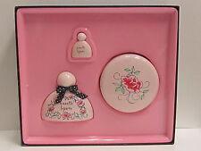 Nanette Lepore Women Perfume 3 Pcs Set 1.7oz EDP+Parfum Mini+7 oz Body Cream