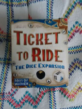 Ticket to Ride - The Dice Expansion - Unused