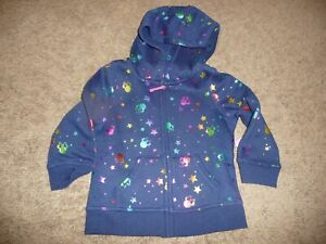 NEW NWT Disney Jumping Beans Minnie Mouse Zip-Up Hoodie Baby Girl size 12 months