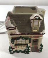 Vintage RImport Village House Light Up Christmas Holiday Home Decoration Display