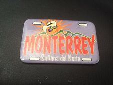 Mexico - MONTERREY Sultana del Norte Travel Souvenir Fridge Magnet