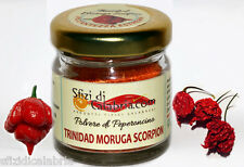 Polvere di Trinidad Scorpion Moruga 10gr - Piccantezza Estrema - guarda Video