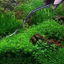 "10"" Aquarium Scissor Curved Wave Pruning Water Plant Cutter Fish Tank Clean Tool"