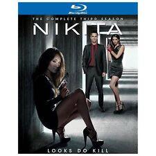 Nikita: The Complete Third Season (Blu-ray Disc, 2013, 4-Disc Set, Includes Digi