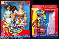 """Hercules Megara Doll Grecian Fashion Disney Legend of Love Golden NRFB SW """""""