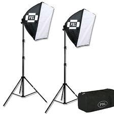 """Photo Video EZ Softbox Lighting Kit 24""""x 24"""" Steve Kaeser Photogrpahic Lighting"""