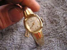 Vintage Gruen Veri-Thin Watch 10KGF Bezel Ladies